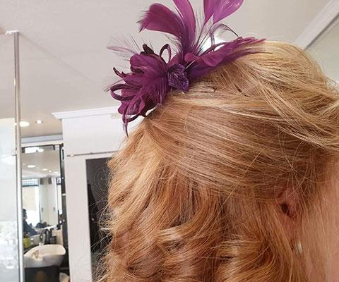 peinado firme y elegante para boda