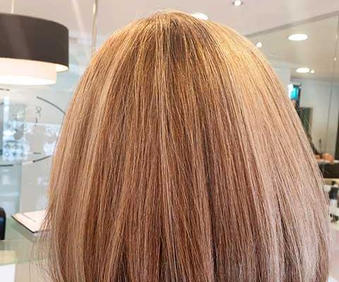 cabello fondo cafe