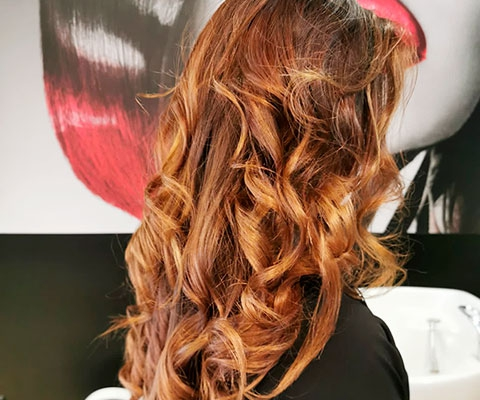 Peinados con bucles