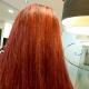 Rojos intensos en tu cabello para estas navidades