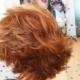 cabello con capas muy despuntadas